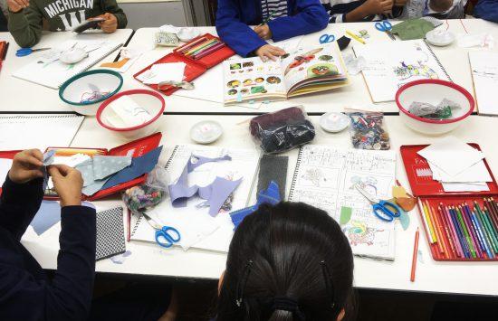 小学生 工作/縫って作ろう虫のブローチ