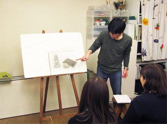 おとな 鉛筆デッサン/冬の制作合評会『中級への広がり』