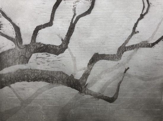 木版画講座:モノクロで摺る抽象(前期)