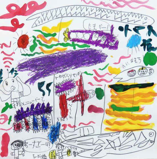 小学生 絵画/ユーモアとリアリティ
