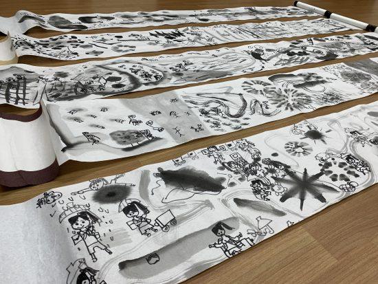 小学生 絵画/モノクロームの宝物