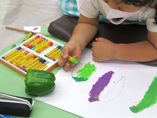 幼児 絵画,工作/ただただ、それが