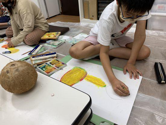 小学生 絵画/伸びゆく春の絵